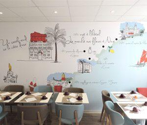 decoration-murale-restaurant