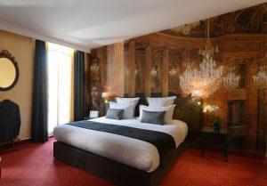 décoration murale personnalisable d'une chambre d'hôtel