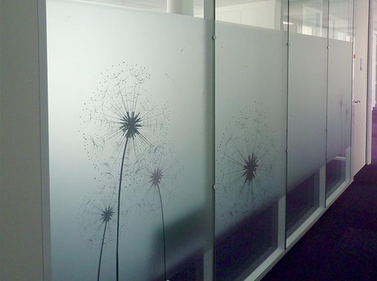 cloisons vitrées