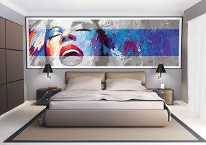 Décoration des chambres d'hotel grâce à des tableaux personnalisables Sogéfab